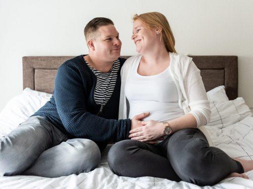 zwanger samen